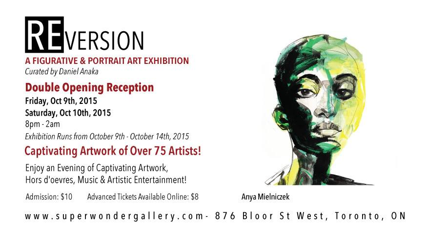 REversion: A Figurative & Portraiture Art Exhibition – October 9th to 14th