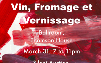 Vin, Fromage et Vernissage: Avocats Sans Frontieres Mcgill – March 31st, 2016, 7-11pm
