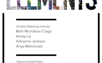 Elements – Group Show – May 5th to 7th